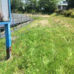 亀山市にて太陽光発電所除草剤散布