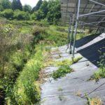 名張市で太陽光発電所の除草剤散布してきました 三重県鈴鹿市草刈り専門店草刈り本舗桐生