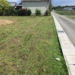 津市にて宅地の草刈りです 三重県鈴鹿市の草刈り業者 草刈り本舗桐生